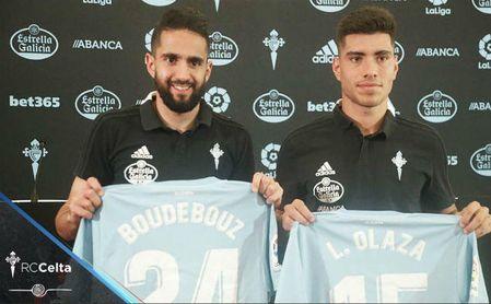 Boudebouz y su alegría por ganar al Sevilla.