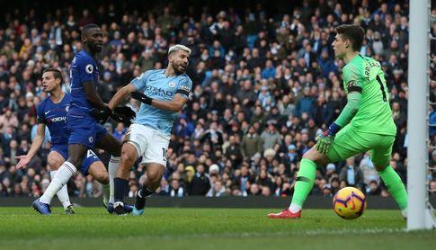 6-0. Aguero sonroja al Chelsea