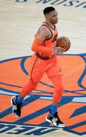 120-111.Westbrook impone una nueva marca en la NBA con 10 triples-dobles seguidos
