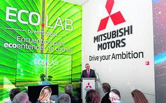 Mitsubishi Motors presenta Ecolab