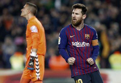1-0. El Barcelona gana sin convencer antes de la ´Champions´