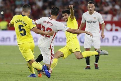 Villarreal y Sevilla, en busca de la reválida tras su reivindicación en Europa