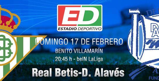 Betis-Alavés: Con todo a su debido tiempo