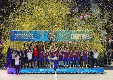 93-94. El Barcelona repite título en la prórroga y prolonga la maldición
