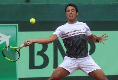 Dellien pone fin a 35 años de espera del tenis boliviano