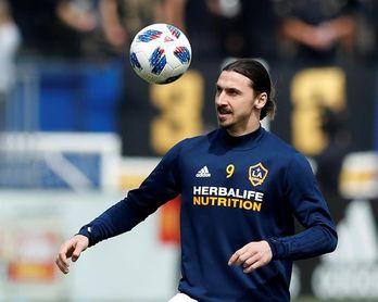 """Ibrahimovic comienza su """"show"""" y """"promete"""" romper todas las marcas de la MLS"""