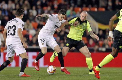1-0. El Valencia aprovechó su superioridad numérica para clasificarse