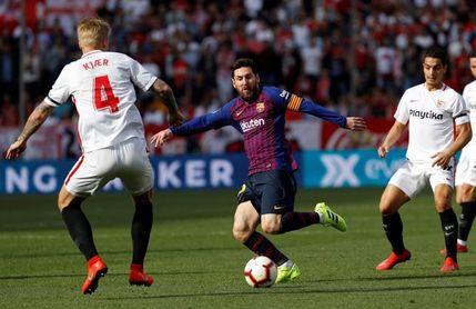 2-4. Messi se destapa antes del Clásico
