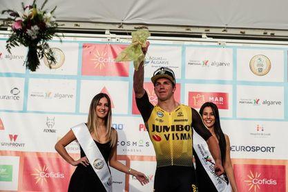 Groenewegen gana la cuarta etapa en El Algarve, Pogacar sigue de líder