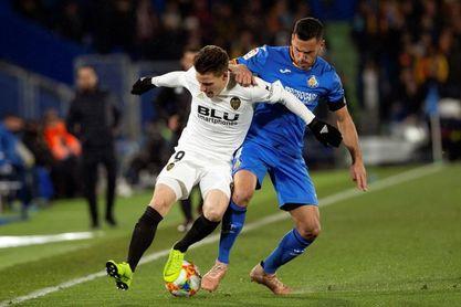 Bordalás recupera a Bruno González para medirse al Betis