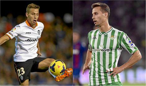 Canales ha jugado en el Valencia, al que se enfrentará hoy con el Betis.