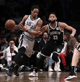 104-103. DeRozan y Aldridge lideran victoria con suspense de Spurs