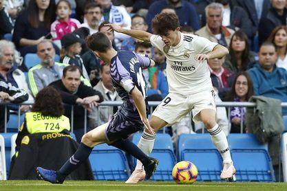"""Zorrilla, territorio """"amable y comanche"""" a partes iguales para el Real Madrid"""