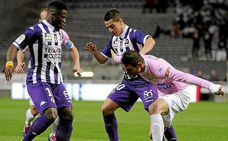 Aurier y Ben Yedder fueron compañeros en el Toulouse.