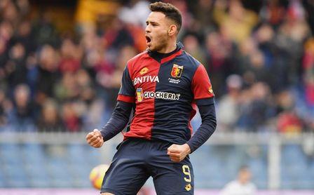 Sanabria suma tres tantos en siete partidos con el Genoa.