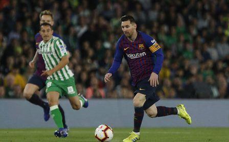 Real Betis 1-4 Barcelona: Contra este tío no hay quien juegue