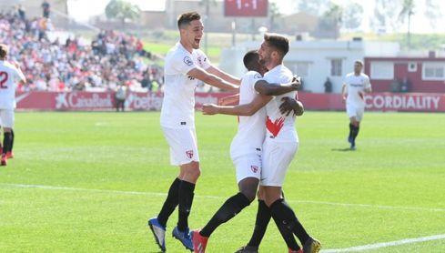 Sevilla Atlético 2-1 UCAM: Premio en el añadido