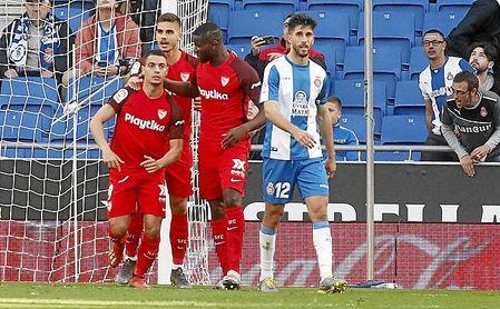 Al Sevilla, más consistente, le bastó un solo tanto para llevarse los tres puntos.