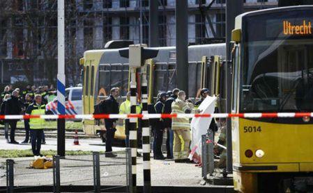 Al menos tres muertos y nueve heridos en el tiroteo de Utrecht.