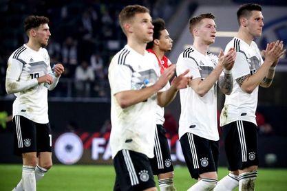 Resultado de imagen de alemania 1-1 serbia