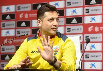 """Mirel Radoi: """"España es un equipo duro, pero seguro que lo haremos bien"""""""
