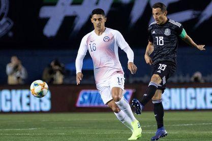 """3-1. México vence a Chile en el debut del """"Tata"""" Martino como entrenador"""