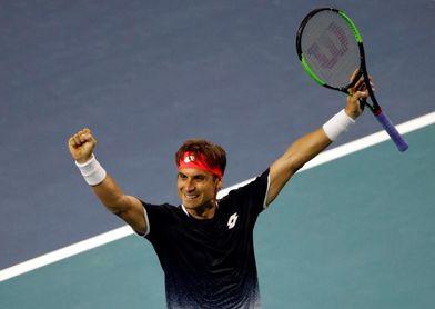 Ferrer logra hazaña de ganar a Zverev, el número dos, y pasa a tercera ronda