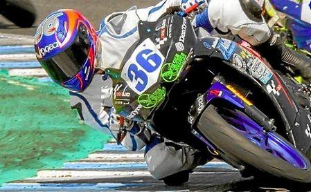 Fallece con 14 años el piloto gaditano Marcos Garrido.
