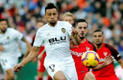 Coquelin sufre una lesión muscular y es duda para el choque ante el Sevilla
