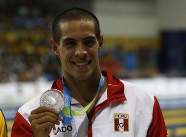 El peruano Fiol nadará en los Panamericanos tras cuatro años suspendido por dopaje