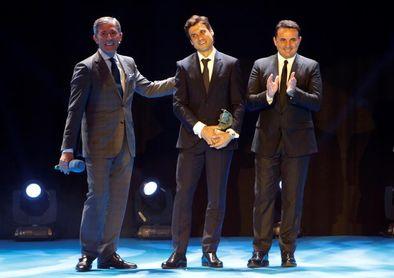 Ferrer, Valverde, Real Madrid y Atlético, premiados en la Gala de la AEPD