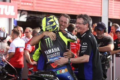 """Rossi, segundo, afirma que su vaso """"seguramente está medio lleno"""""""