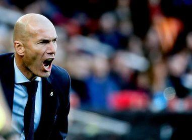 Zidane planea hasta siete cambios para Mestalla