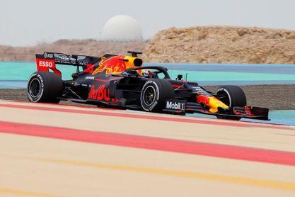 Verstappen, primero por delante de Schumacher el primer día de test en Baréin