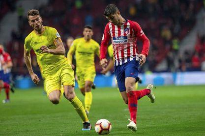 Morata sufre un esguince en el tobillo y es duda para el Camp Nou
