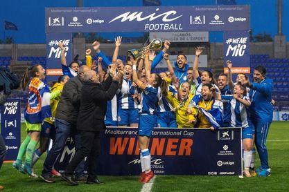 El Espanyol, campeón femenino de la 19 edición del MIC