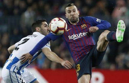 """Jordi Alba descarta la relajación: """"El equipo va al cien por cien"""""""