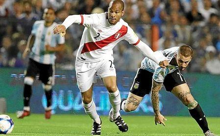 El peruano vio frenada su gran proyección por las lesiones.
