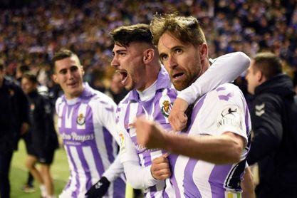 1-0. Míchel revive al Real Valladolid y hunde al Girona