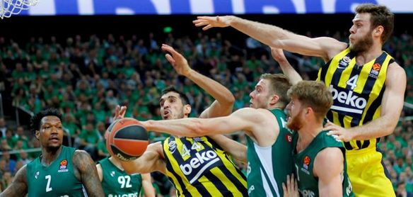 El Fenerbahce gana al Zalgiris y se clasifica para la Final Four de Vitoria