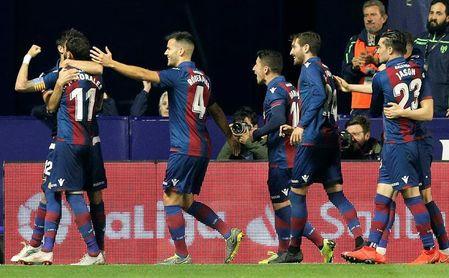 El Levante no ganaba por 4-0 desde 2012
