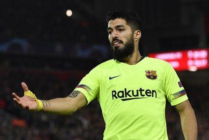 Luis Suárez será operado esta tarde de un lesión en el menisco derecho