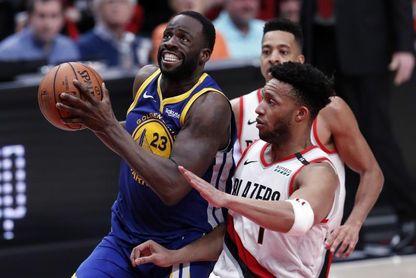 117-119. Curry y Green ponen a los Warriors en las Finales con barrida a los Trail Blazers