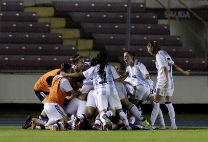 3-1. Argentina vence a Uruguay en último ensayo antes del Mundial de Francia
