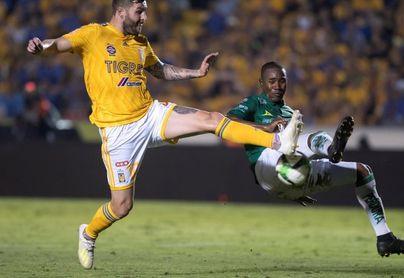 Los Tigres vencen 1-0 al León con gol de Gignac en el duelo de ida de la final