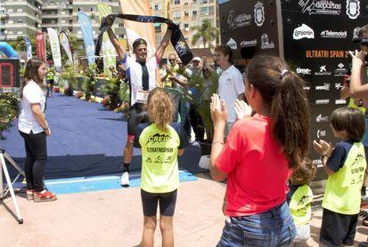 Antonio Cardona 'Cabila', vencedor del 'Ultra-Tri Spain'