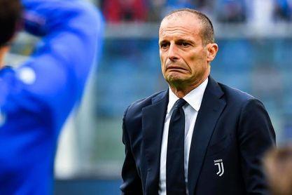 El Juventus cae ante el Sampdoria en la despedida de Allegri