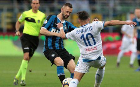 Encuentro entre el Inter, que logró puesto Champions, y el Empoli certificó el descenso.