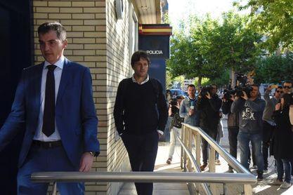 Directiva y jugadores del Huesca comparecen en comisaría por los supuestos amaños