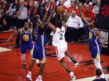 105-106. Los Warriors ganan a los Raptors y mantienen viva la final